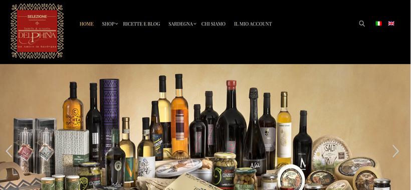 realizzazione sito web professionale food