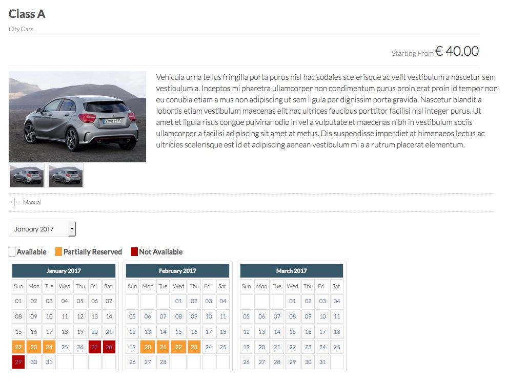 sistema Noleggio Auto e booking engine autonoleggio 654
